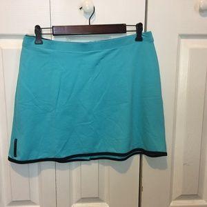 Tail Tech Vintage Blue Tennis Skirt Golf L